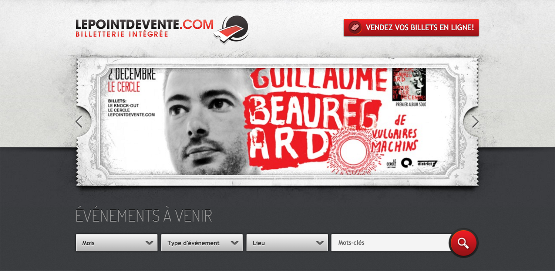 Lepointdevente.com / Publicité